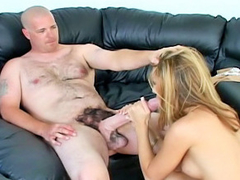 Chick gets her latina pussy and face hole fucked by monster 10-Pounder