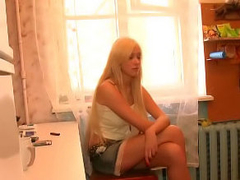 Bonny hawt blonde hawt teen getting gaped everlasting by big flannel
