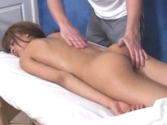 The cutie wanted to get nice intimate knead with the continuation and that is why she went to one professional masseur and fucker who knows what's what both in knead and pounding! And hottie doesn't regret about bossy she spent! Man does his best massaging her body and making it 100% willing for sex.