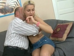Sweet chick is getting her twat drilled by tutor stranger behind