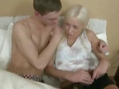 Hottie performs fellatio and acquires banged in doggy style.
