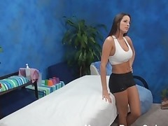 Sporty cutie got what to expose and that hottie is going to demonstrate all of delights to masseur and to have good pounding with him! This Babe came to the saloon not to get the massage merely if telling the truth.