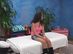 U would crave to be on place of the fortunate male masseur after witnessing the cutie that that guy is fucking! That Babe looks really amazing and knows what's what in screwing. Chap massages and copulates her so well.