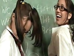 Hawt, adorable and completely irresistible school angels, Danni and Amia are in some real trouble after flirting in class. When the Large mean teacher comes over and unqualifiedly punishes 'em, they fall to his lenience and start engulfing his ruler and playing with his apples! These sluts are so hawt and playful u'll definitely have a blast watching 'em get into trouble!